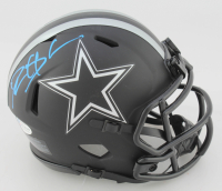 Deion Sanders Signed Cowboys Eclipse Alternate Speed Mini Helmet (Beckett COA) at PristineAuction.com