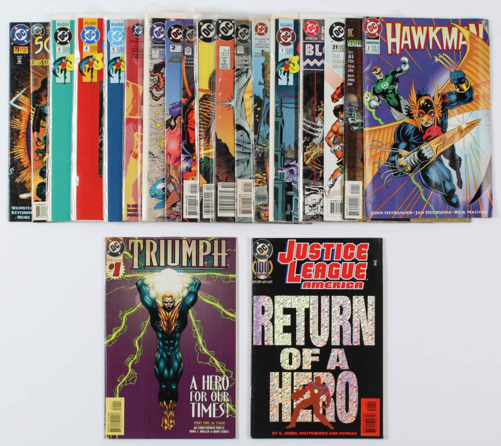 Lot of (20) DC Comic Books Issues Ranging from #1 - #415 at PristineAuction.com
