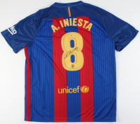 Andres Iniesta Signed FC Barcelona Jersey (Beckett Hologram) at PristineAuction.com
