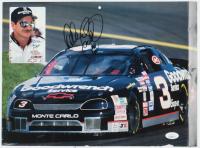 Dale Earnhardt Sr. Signed NASCAR 11x14.5 Poster (JSA COA) at PristineAuction.com