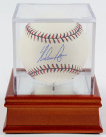 Nolan Ryan Signed 2009 All-Star Game Baseball With Display Case (PSA COA) at PristineAuction.com