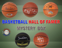 Schwartz Sports Basketball Hall of Famer Signed Basketball Mystery Box - Series 1 (Limited to 75) (Pristine Exclusive Edition) at PristineAuction.com