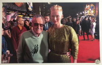 Stan Lee Signed 11x17 Photo (Lee COA) at PristineAuction.com