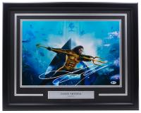 "Jason Momoa Signed ""Aquaman"" 16x20 Custom Framed Photo Display (Beckett COA) at PristineAuction.com"
