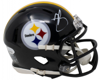 Minkah Fitzpatrick Signed Steelers Speed Mini-Helmet (JSA COA) at PristineAuction.com