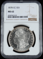 1878-CC Morgan Silver Dollar (NGC MS62) at PristineAuction.com