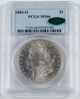 1884-O Morgan Silver Dollar (PCGS MS66) (CAC) at PristineAuction.com
