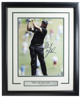 Phil Mickelson Signed 11x14 Custom Framed Photo (Beckett COA) at PristineAuction.com