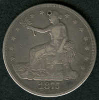 1875-CC Trade Silver Dollar at PristineAuction.com