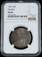 1920 Pilgrim Tercentenary Silver Commemorative Half Dollar (NGC MS66) at PristineAuction.com