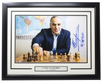 "Garry Kasparov Signed 17x24 Custom Framed Photo Inscribed ""06/05/2017"" (Beckett LOA) at PristineAuction.com"