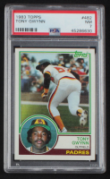 Tony Gwynn 1983 Topps #482 RC (PSA 7) at PristineAuction.com