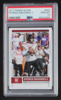 Patrick Mahomes II 2017 Score #403 RC (PSA 10) at PristineAuction.com