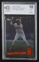 Derek Jeter 1994 Classic Cream of the Crop #C17 (BCCG 10) at PristineAuction.com