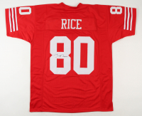 Jerry Rice Signed Jersey (JSA COA) at PristineAuction.com