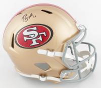Brandon Aiyuk Signed 49ers Full-Size Speed Helmet (Beckett COA) at PristineAuction.com