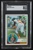 Tony Gwynn 1983 Topps #482 RC (SGC 8) at PristineAuction.com
