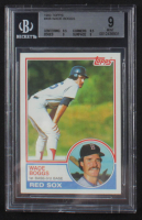 Wade Boggs 1983 Topps #498 RC (BGS 9) at PristineAuction.com