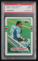 Barry Sanders 1989 Topps Traded #83T RC (PSA 9) at PristineAuction.com