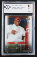 LeBron James 2003 Upper Deck LeBron James Box Set #8 (BCCG 10) at PristineAuction.com