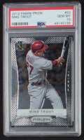 Mike Trout 2012 Panini Prizm #50 (PSA 10) at PristineAuction.com