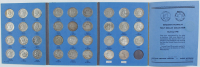 1948-1963 Franklin Silver Half-Dollars Booklet Set of (35) Coins at PristineAuction.com