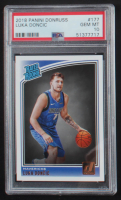 Luka Doncic 2018-19 Donruss #177 RR RC (PSA 10) at PristineAuction.com