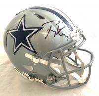 Tony Romo Signed Cowboys Full-Size Authentic On-Field Speed Helmet (Beckett COA) at PristineAuction.com