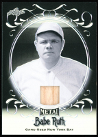 Babe Ruth 2019 Leaf Collection Game-Used Bat Wave Silver #SB-11 at PristineAuction.com