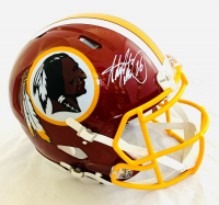 Adrian Peterson Signed Washington Redskins Full-Size Authentic On-Field Speed Helmet (Beckett COA) at PristineAuction.com