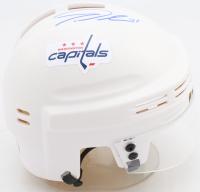Tom Wilson Signed Capitals Mini Helmet (COJO COA) at PristineAuction.com