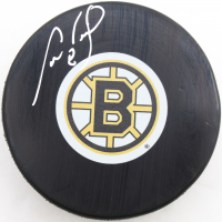 Cam Neely Signed Bruins Logo Hockey Puck with Display Case (COJO COA) at PristineAuction.com