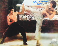 """Chuck Norris Signed """"Way Of The Dragon"""" 11x14 Photo Inscribed """"Colt"""" (JSA COA) at PristineAuction.com"""