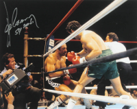 """Gerry Cooney Signed 11x14 Photo Inscribed """"54 Seconds"""" (JSA COA) at PristineAuction.com"""