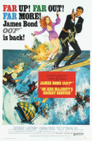 "George Lazenby Signed ""On Her Majesty's Secret Service"" 11x17 Movie Poster Photo Inscribed ""007"" (JSA COA) at PristineAuction.com"