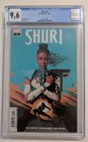 "2018 ""Shuri"" Issue #1 Marvel Comic Book (CGC 9.6) at PristineAuction.com"