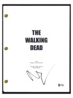 "Norman Reedus Signed ""The Walking Dead"" Pilot Episode Script (Beckett COA) at PristineAuction.com"