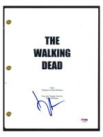 """Norman Reedus Signed """"The Walking Dead"""" Pilot Episode Script (PSA COA) at PristineAuction.com"""