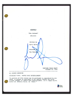 "Jason Alexander Signed ""Seinfeld: The Contest"" Episode Script (Beckett COA) at PristineAuction.com"