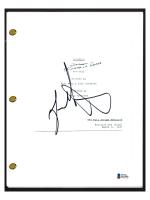 "Jason Alexander Signed ""Seinfeld"" The Summer of George Episode Script (Beckett COA) at PristineAuction.com"