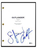 "Sam Heughan & Caitriona Balfe Signed ""Outlander"" Pilot Episode Script (Beckett COA) at PristineAuction.com"