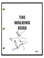 "Andrew Lincoln & Norman Reedus Signed ""The Walking Dead"" Pilot Episode Script (Beckett COA) at PristineAuction.com"