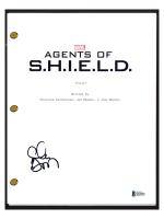 "Clark Gregg Signed ""Agents of Shield"" Pilot Episode Script (Beckett COA) at PristineAuction.com"