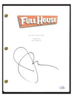 "John Stamos Signed ""Full House"" Pilot Episode Script (AutographCOA COA) at PristineAuction.com"