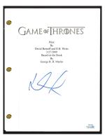"Lena Headey Signed ""Game of Thrones"" Pilot Episode Script (AutographCOA COA) at PristineAuction.com"