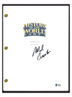 "Mel Brooks Signed ""History of the World, Part I"" Movie Script (Beckett COA) at PristineAuction.com"