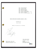 """Daniel Radcliffe Signed """"Harry Potter and the Deathly Hallows Part 1"""" Movie Script (Beckett COA) at PristineAuction.com"""