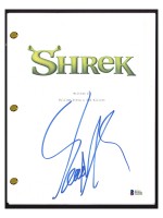 "Eddie Murphy Signed ""Shrek"" Movie Script (Beckett COA) at PristineAuction.com"