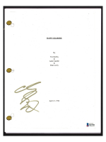 "Adam Sandler Signed ""Happy Gilmore"" Movie Script (Beckett COA) at PristineAuction.com"