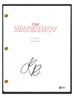 """Adam Sandler Signed """"The Waterboy"""" Movie Script (Beckett COA) at PristineAuction.com"""
